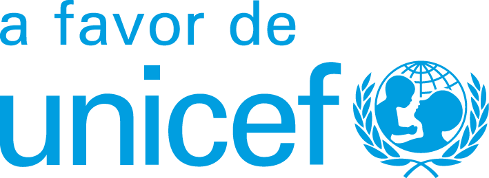 a favor de UNICEF-cian